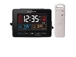 AcuRite Atomic Weather Station with Dual Alarm Clock - 13035W