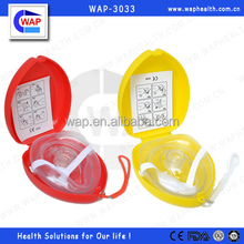 WAP-Health one-way valve disposable CPR face mask