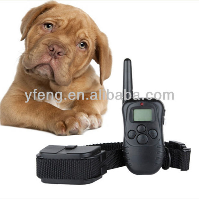 Excelvan Remote Control Dog Training Shock Collar for Dog with 100LV of Shock and Vibration, Rechargeable and Waterproof