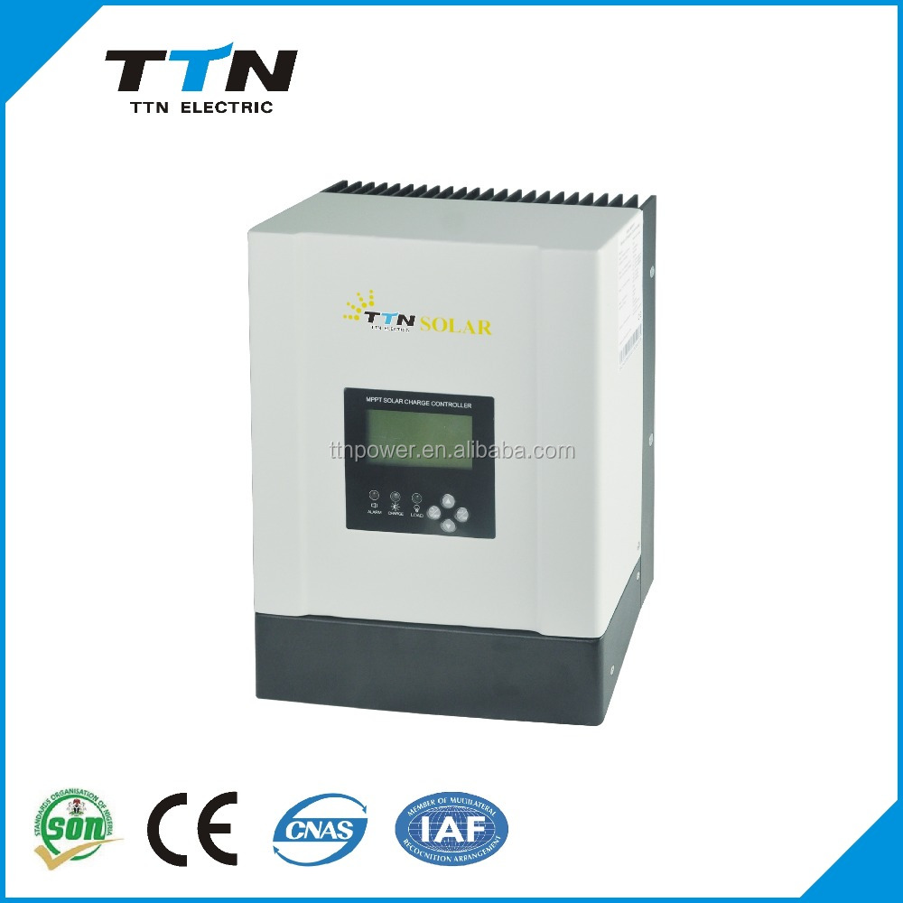 TTN New Technology New Arrival 60A 96 volt <strong>charge</strong> <strong>controller</strong> for solar panel 20 amp