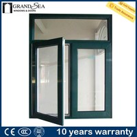Latest design 1.6mm thichkness beveled glass windows drawings