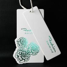 Customized High Quality Printed Swing Hang Tag