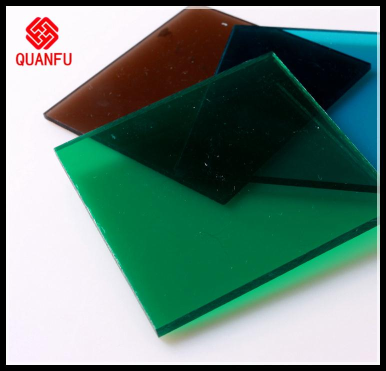 shanghai manufacture U-shaped locking-design plastic material polycarbonate embossed sheet plateboard