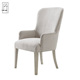 Italian hot wholesale Wooden Upholstered Dining Chair/Antique side dining chair