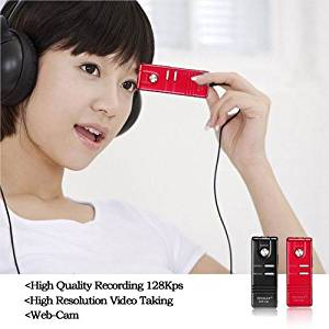 JimTab® Digital Voice Recorder, Dvr-136, 8g Flash Memory, Built High Definition 1280*720p Video Camera, Three Continuous Shooting, Charging and Recording At the Same Time