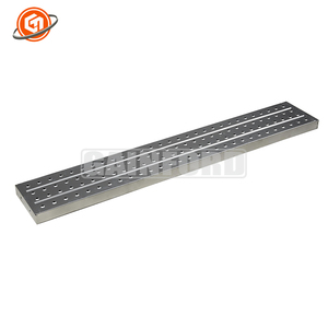 BS 1139 EN39 Standard Galvanized Painted Scaffolding Steel Plank Platform Metal Deck Walking Board