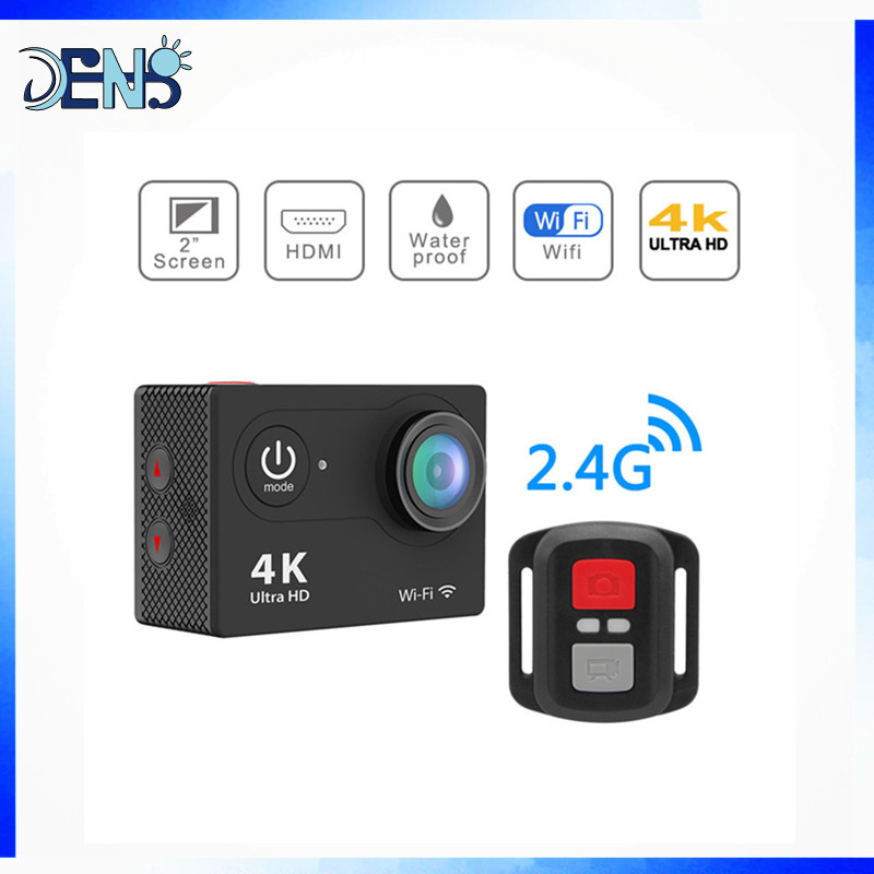 Action Camera H9 Ultra HD 4K WiFi with 2.4G Remote Control Sports Video Camcorder DVR DV go Waterproof pro Camera