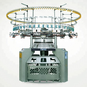Single Jersey 4/6 Colors Auto Striper Circular Knitting Machine