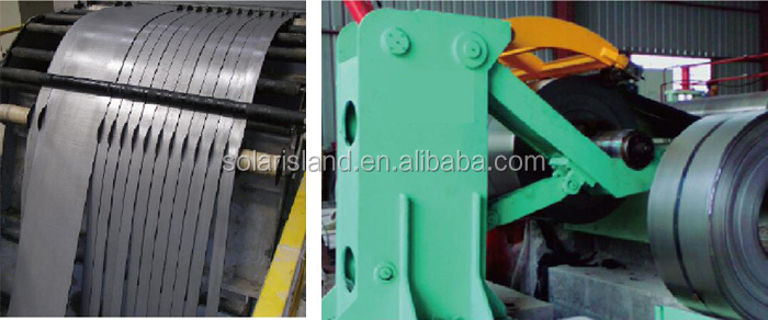 Steel Coil Slitting and Rewinding Machine Line