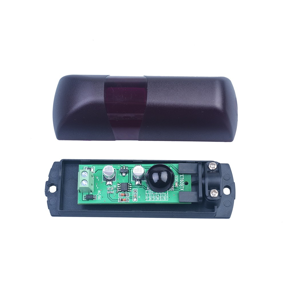 Yet beam infrared motion detector photocell for