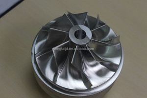 OEM precision 5 axis cnc milling machine/impeller