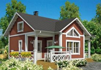 China Modern European Style Villa Prefab Barn Homes