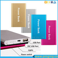 Fashional Gift Ultra Thin Portable 4000mah Power Bank, Mobile Phone Power Bank Portable Charger