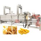 Industrial Automatic Gas Electric Potato Chips Deep Fryer Oil Filter Machine