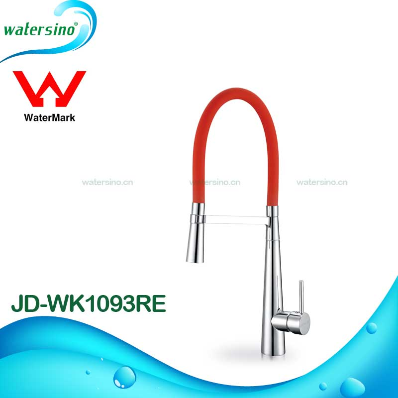 Watermark Luxury kitchen brass pull out sink kitchen mixer