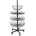Counter display stands Spinning counter top display rack Heavy duty rotating display stand turntable