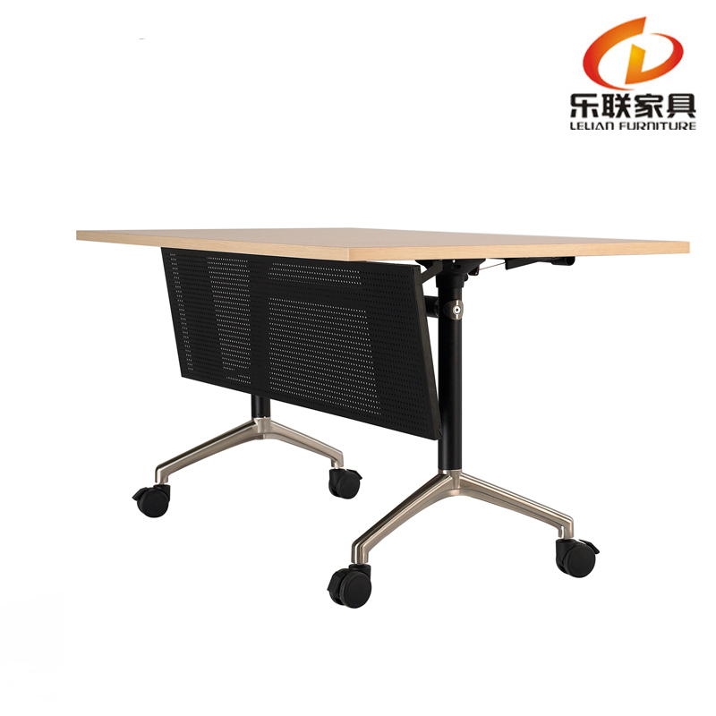 C80 A Training Multifunction Mobile Units Foldable Office Table Desk Long Conference Folding Tables