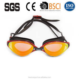 Cool !New Fashion Mirror Goggles For Swimming