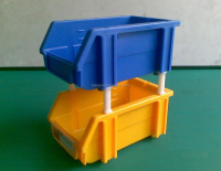 Industrial Plastic Storage container for Small parts