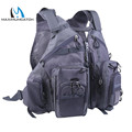 Maximumcatch G mesh Fly Fishing Vest Gray Multi function vest