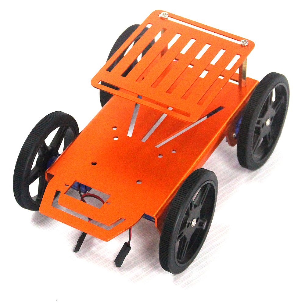 4wd Lightweight All Wheel Drive Robot Car Smart Chis Electronic