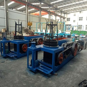Automatic used wire drawing machine with high speed