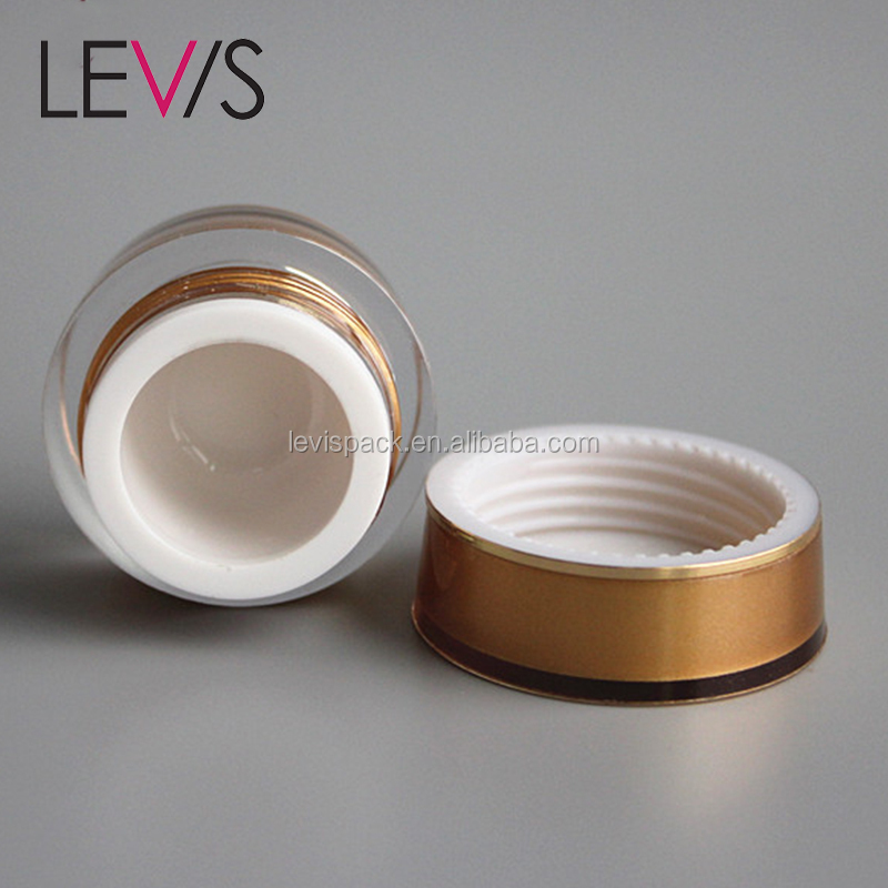 Best selling empty cosmetic jar 5ml eyeshadow palette packaging