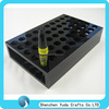 Black cosmetic lipstick holder with 50 holes counter mascara display holder