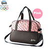 high quality pink heart mummy travel baby changing diaper bags mummy baby bag
