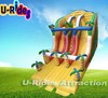 Dinosaur Commercial inflatable slide For Sale Amusement Park