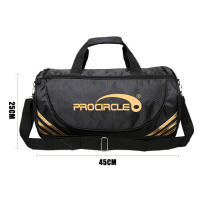 Durable Travel Bag With Shoe Compartment Gym Sports Bag