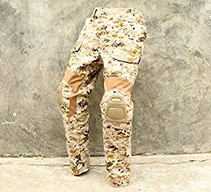 b069c21e20157 Get Quotations · TMC CP Gen2 Style Tactical Army Military Combat Pants with Pad  set AOR1 Airsoft