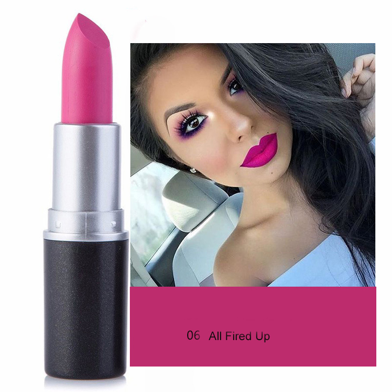 Hot selling makeup products high quality waterproof private label matte lipstick