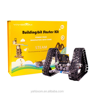 Yahboom BBC micro:bit building:bit programming STEM educational DIY robot kit with 9 models