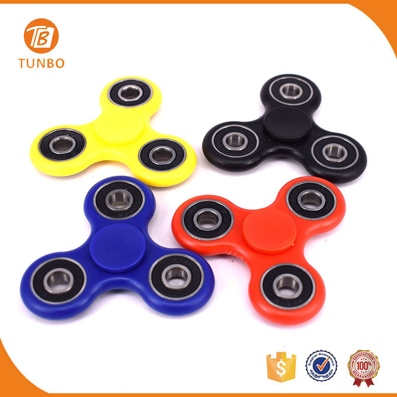 High quality small plastic fidget hand spinner funny toys