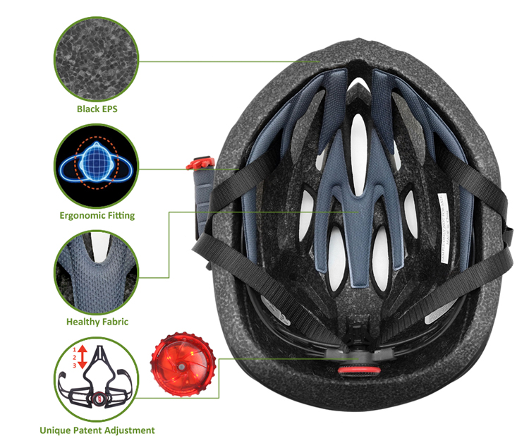 Manufacturer Direct Bicycle Helmet Adult Road Bike Helmet 9