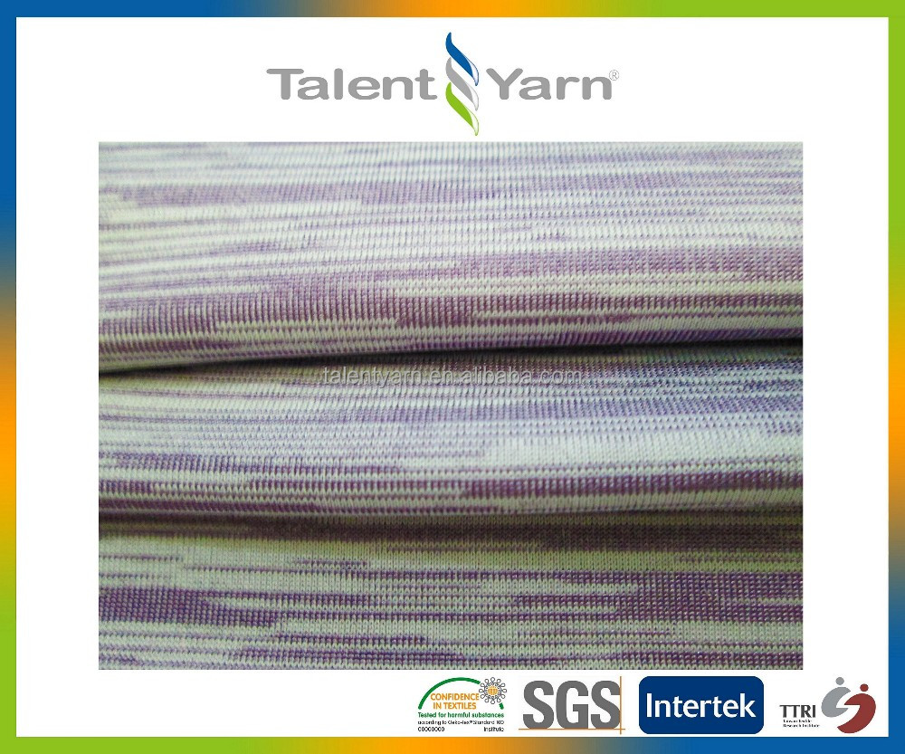 Functional Cooling UV Cut Nylon Spandex Fabric For Sports Jersey Clothing
