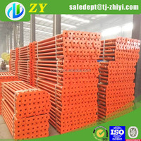 Zhiyi Popular used painted italian scaffold post/bed frame fittings/flower plate steel props