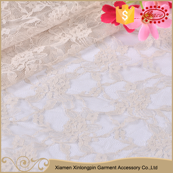 High quality wedding dresses off white guipure tulle textile lace fabric for sale