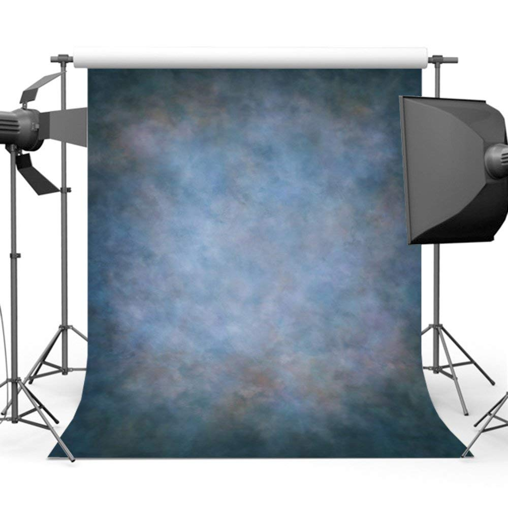 Laeacco Abstract Background 10x6.5ft Grunge Backdrop Graffiti Solid Color Painted Blurry Wallpaper Photography Background Kids Adults Photo Studio Props