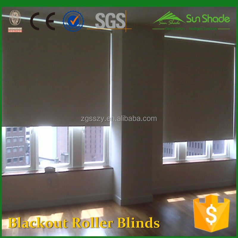 Battery operated dc motor Operation Blackout Roller blinds