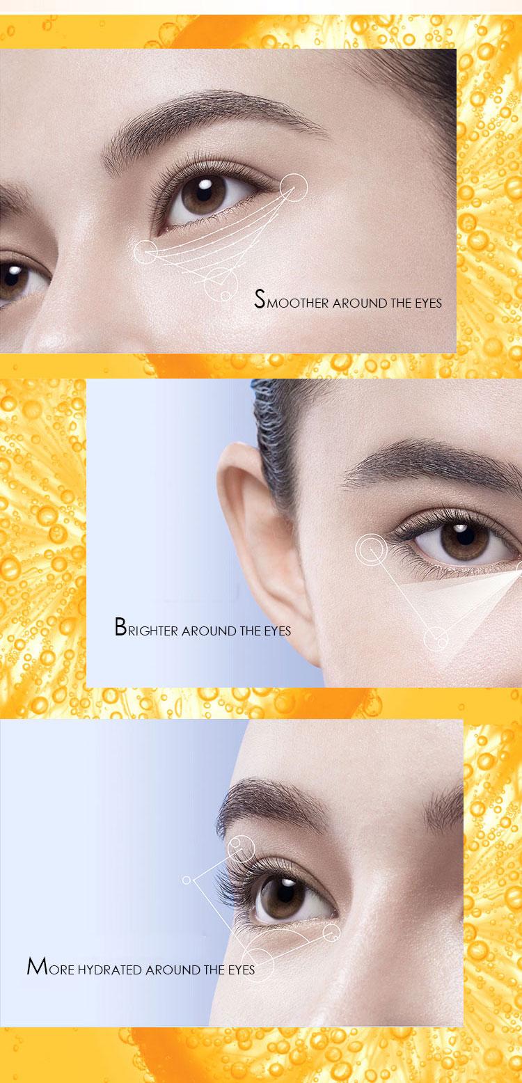 DR.RASHEL Makeup Primer Anti Aging Ampoule Hyaluronic Acid Essence Hydration Remove Dark Circle Vitamin C Facial Eye Serum