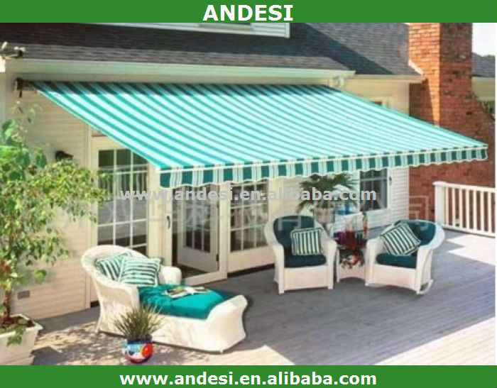 siding electrical awning motorised window canopy