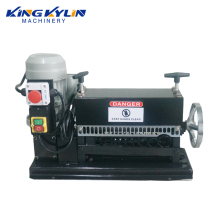 KK- 038 Scrap copper wire stripping machine /copper wire cable scrap electric wire stripper
