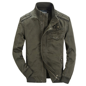 Custom high quality Wash and wear outdoor men jacket