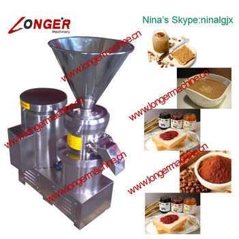 Sesame/Peanut/Fresh Chili/Cacao Beans/Fruit/Tomato Paste Grinding/Milling Machine