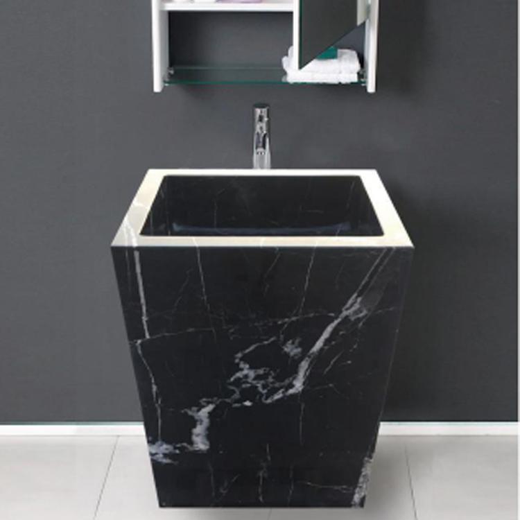 porcelain adxcomputer marble bathroom cierra pedestal quickly sink