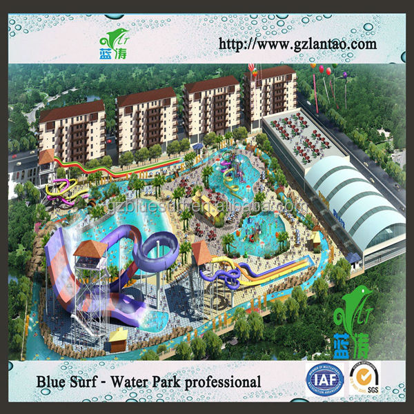 Adult and Children Water Park Design Build