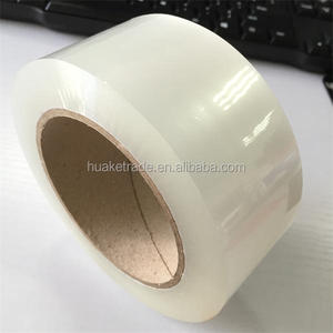 Wholesale cheap logo printing packing clear bopp adhesive tape jumbo roll