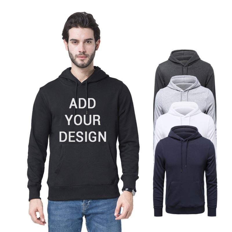 Cheap Wholesale Eco Friendly Designer Pull Over Blank Pullover <strong>Hoodies</strong>